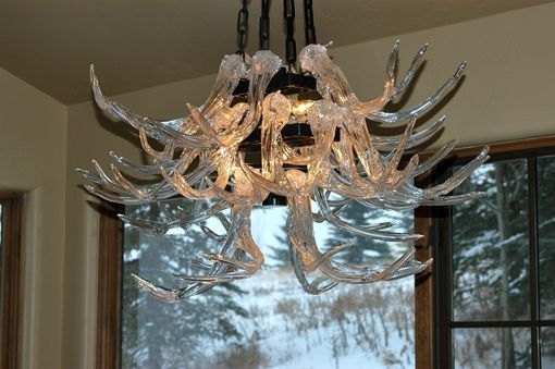 Custom Made Scenic Mesa Custom Chandelier