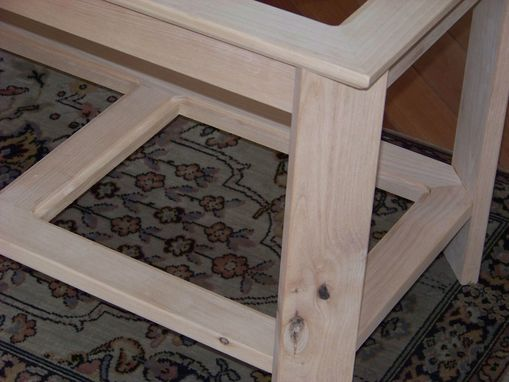 Custom Made Coffee Table And End Tables
