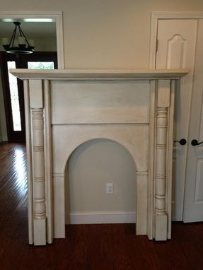 Custom Made Tall Mantel
