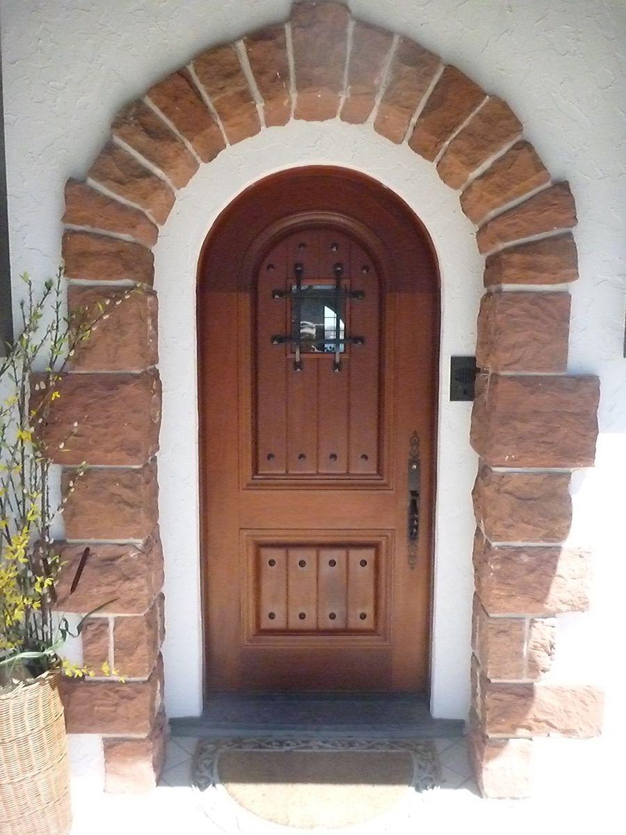 Handmade Mahogany Entry Door With Speakeasy By John Hopson