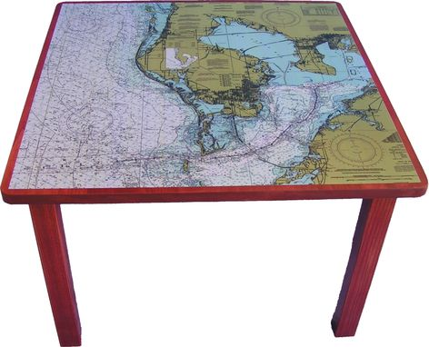 Custom Made Coastal Table