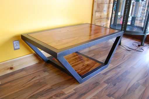 Custom Made Tangent Coffee Table