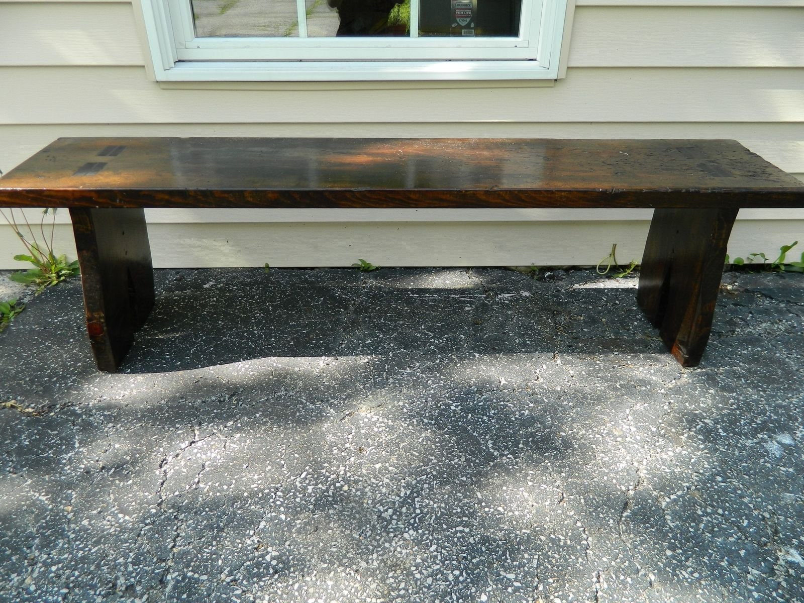 hand crafted rustic bench by the chicago bench co custommade com