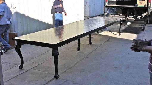 Custom Made Very Special Custom 16ft Long Reclaimed Lumber Dining Table