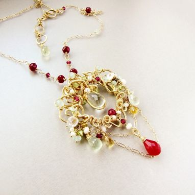 Custom Made The Golden Orchid Necklace