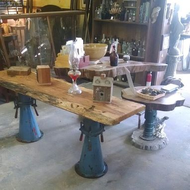 Custom Made Custom Made Live Edges, Industrial, Exotic Louisiana Found Woods, & Bases