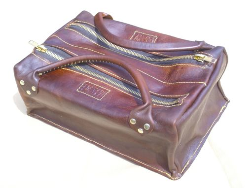 Custom Made Leather Toiletries Bag