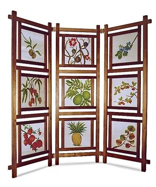 Custom Made 9-Panel Folding Screen
