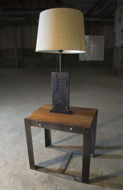Custom Made Sugi Lamp