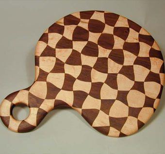 Custom Made Harlequin Cutting Board