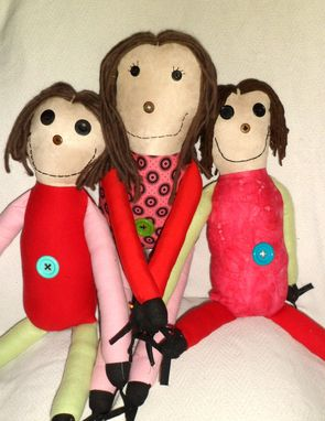 Custom Made Softie Family
