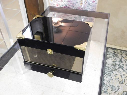 Custom Made Acrylic Jewelry Box - Hand Crafted, Custom Size And Colors Available