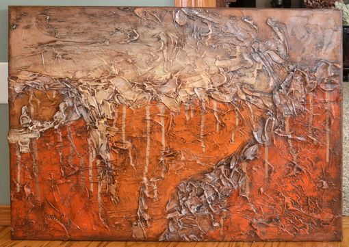 "Custom Made 24x30 Original Modern Textured Contemporary Abstract Painting By Alisha ""Dune"""