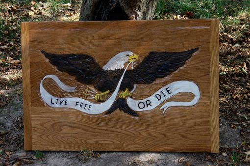 Custom Made Eagle Plaques & Carvings