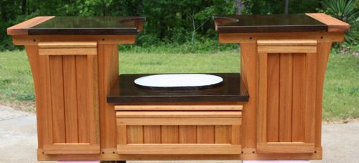 Custom Made Primo Table Cabinet Brazilian