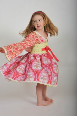 Custom Made Girl's Kimono Dress