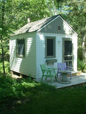 Custom Made Garden Cottage At Whitefish Lake