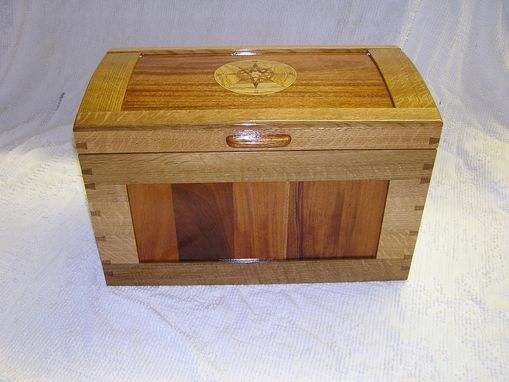 Custom Made Compass Rose Treasure Chest