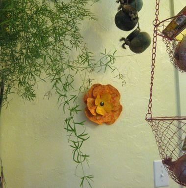Hand Made Art Sculpture Wall Decor Metal Art Flower Kitchen Art ...