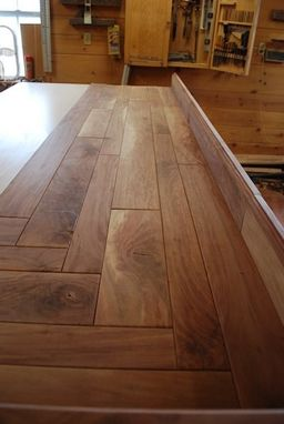 Custom Made Queesland Walnut Counter Top