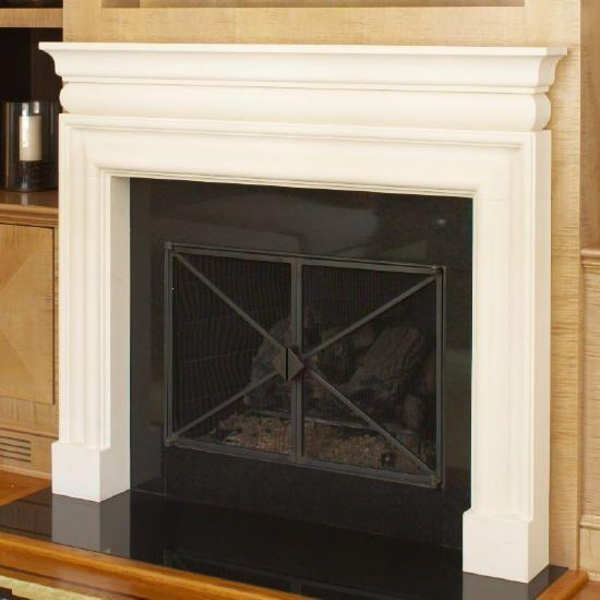 Custom Made Custom Contemporary Fireplace Doors In Scarsdale, Ny - Hand Made Custom Contemporary Fireplace Doors In Scarsdale, Ny By