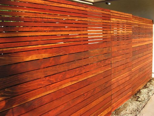 Custom Made Custom, Horizontal Fence