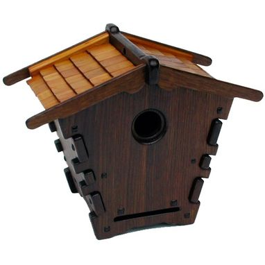Custom Made Greene Brothers Style Decorative Birdhouse