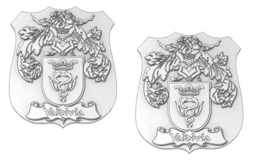 Custom Made Family Crest Shield Cufflinks