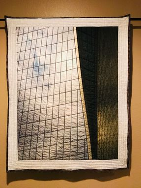 Custom Made Quilted Photo Of One World Trade Tower
