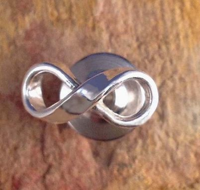 Custom Made Tie Tack With Infinity Symbol