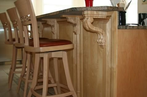Custom Made Maple Kitchen Cabinet Refacing