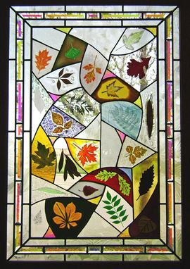 Custom Made Leaf Sampler Panel