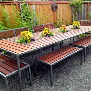 Ipe Outdoor Center Piece Table