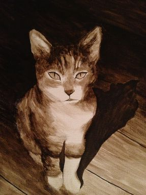 Custom Made Medium-Sized Custom Pet Portrait,
