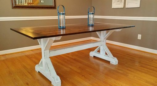 Custom Made Oxford Trestle Table