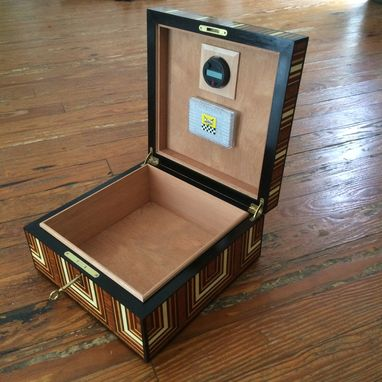 Custom Made Custom Veneered Humidor