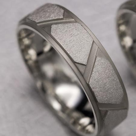 s cake modern has il wedding artisan three this blog set textured texture sterling band tier silver rings popular metalsmith ring motocross designed nataliya