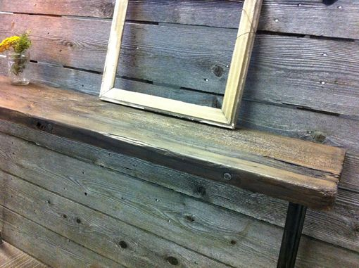 Custom Made Black Walnut Console Table