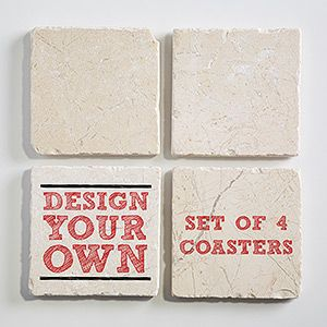 Custom Made Tile Coasters