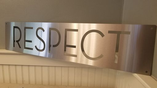 Custom Made Metal Laser Cut Signs