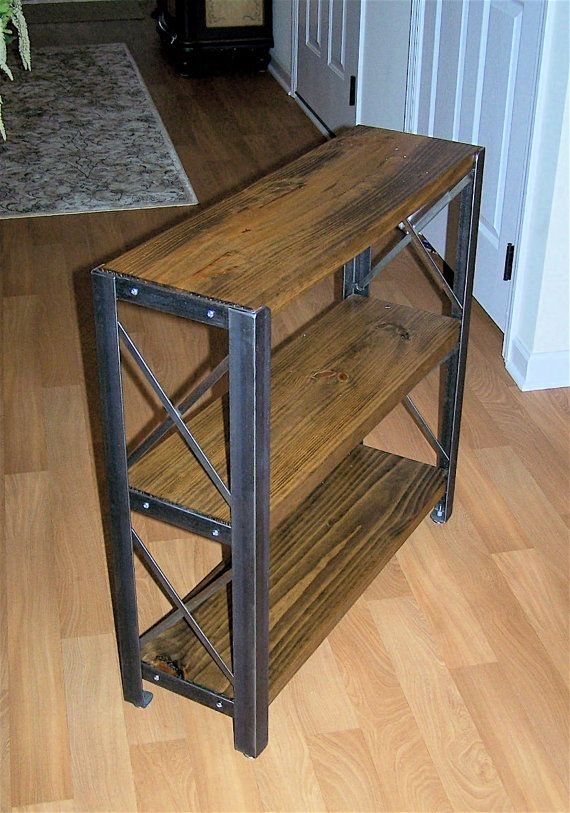 Buy Handmade Industrial Bookcases Made To Order From Brooklyn Reclamation Custommade Com