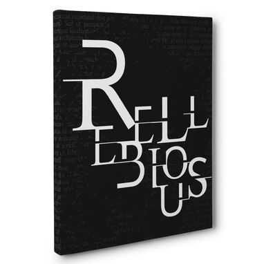 Custom Made Rebellious Canvas Wall Art