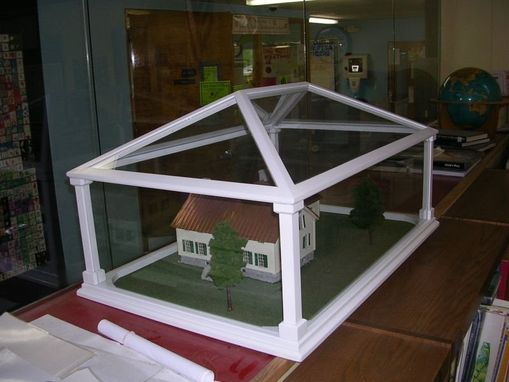 Custom Made Model House Display Case