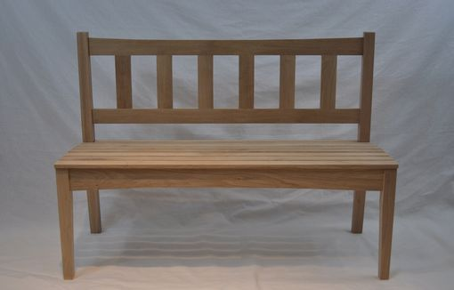 Custom Made Garden Bench