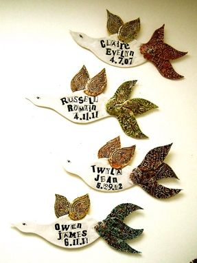 Custom Made Personalized Custom Poetry Bird Art Wall Hanging