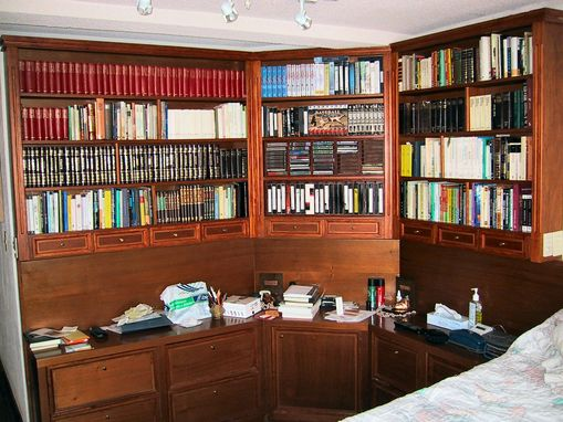 Custom Made Bedroom Library