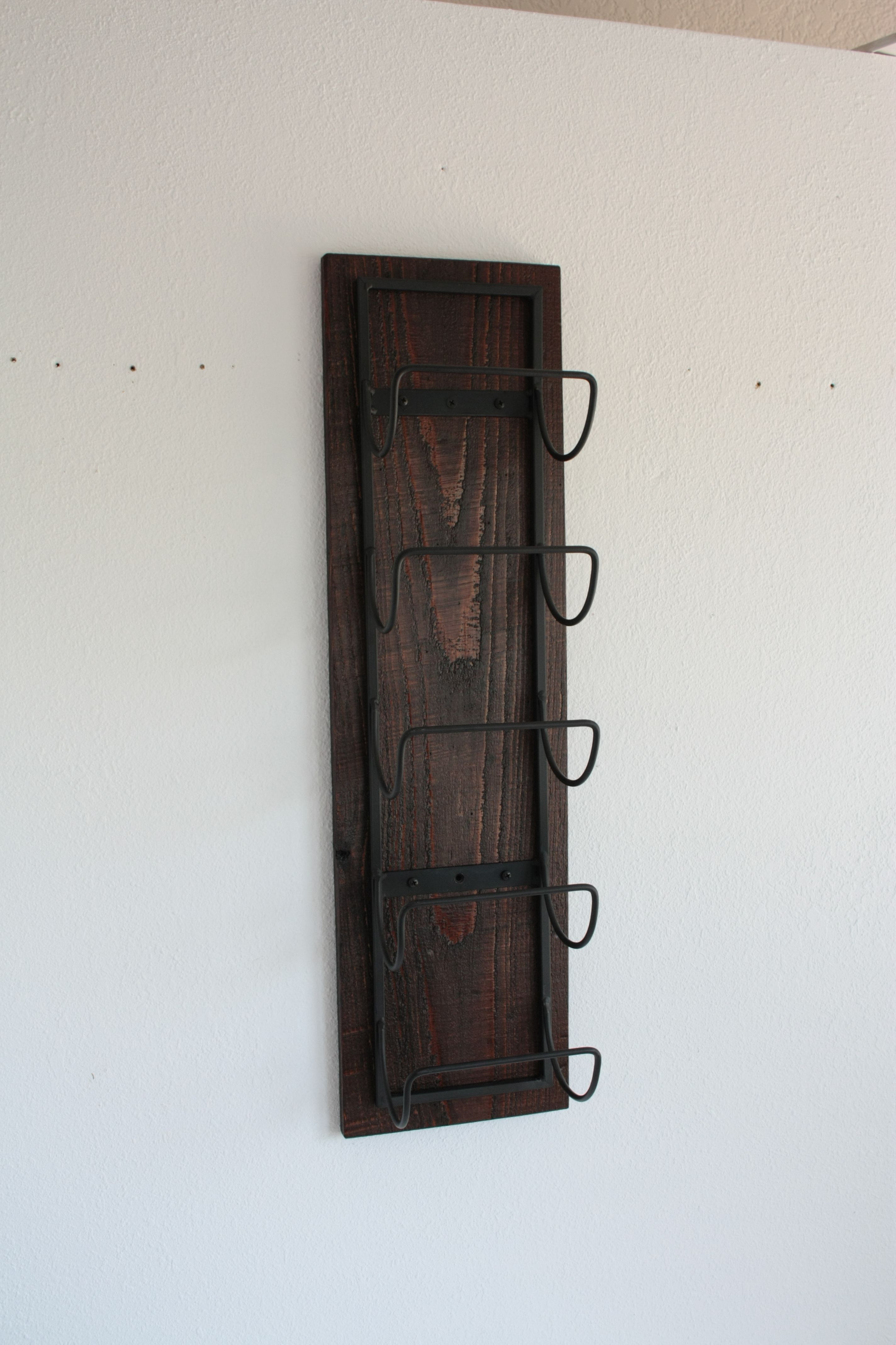 mounted bottle racks cabinets wine wall interior stopper single wood mount case reclaimed re unique acrylic ideas display rack holder engineered