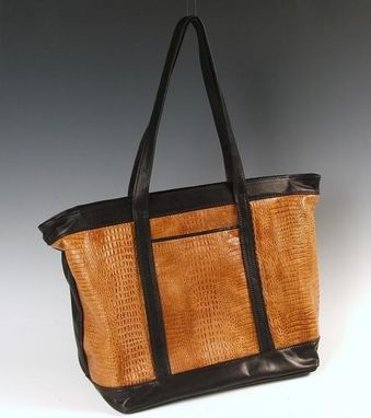 Custom Made Tote Bag, Leather