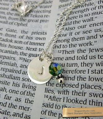 Custom Made Sterling Silver Charm Necklace