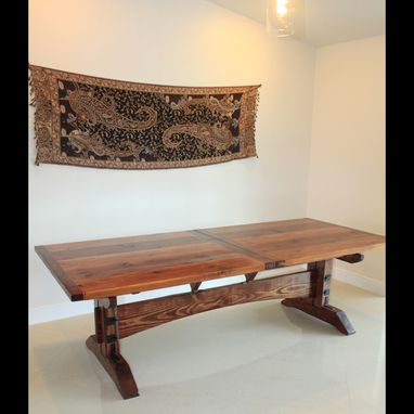 Custom Made Large Extendable Dining Table